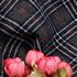 格子 无弹 毛纺 色织 柔软 绒感 大衣 外套 短裙 女装 秋冬 71130-11