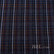 梭织 格子 棉感 色织 斜纹 无弹 外套 衬衫 大衣 裤子 期货 60620-11