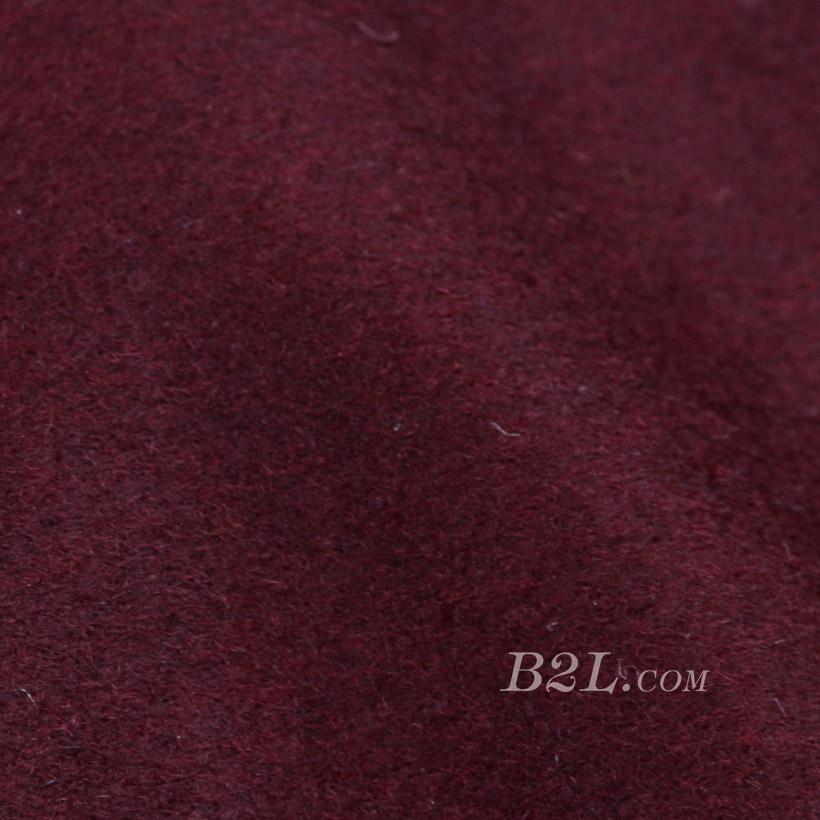 素色 梭织 毛呢 柔软 羊毛 大衣 低弹 外套 秋冬 女装 80311-3
