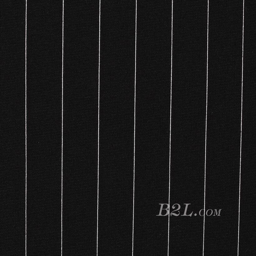 針織染色條紋面料-春秋冬連衣裙休閑服針織衫面料60311-42