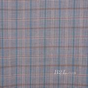 格子 梭织 色织 复合 低弹 春秋 大衣 外套 女装 80714-3