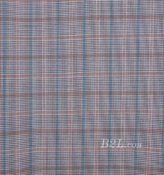 格子 梭織 色織 復合 低彈 春秋 大衣 外套 女裝 80714-3