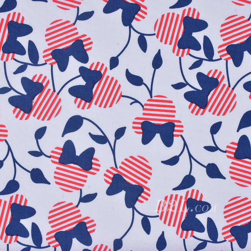 期货 印花 全棉 梭织 米老鼠 棉感 低弹 连衣裙 薄 衬衫 四季 女装 童装 80302-20