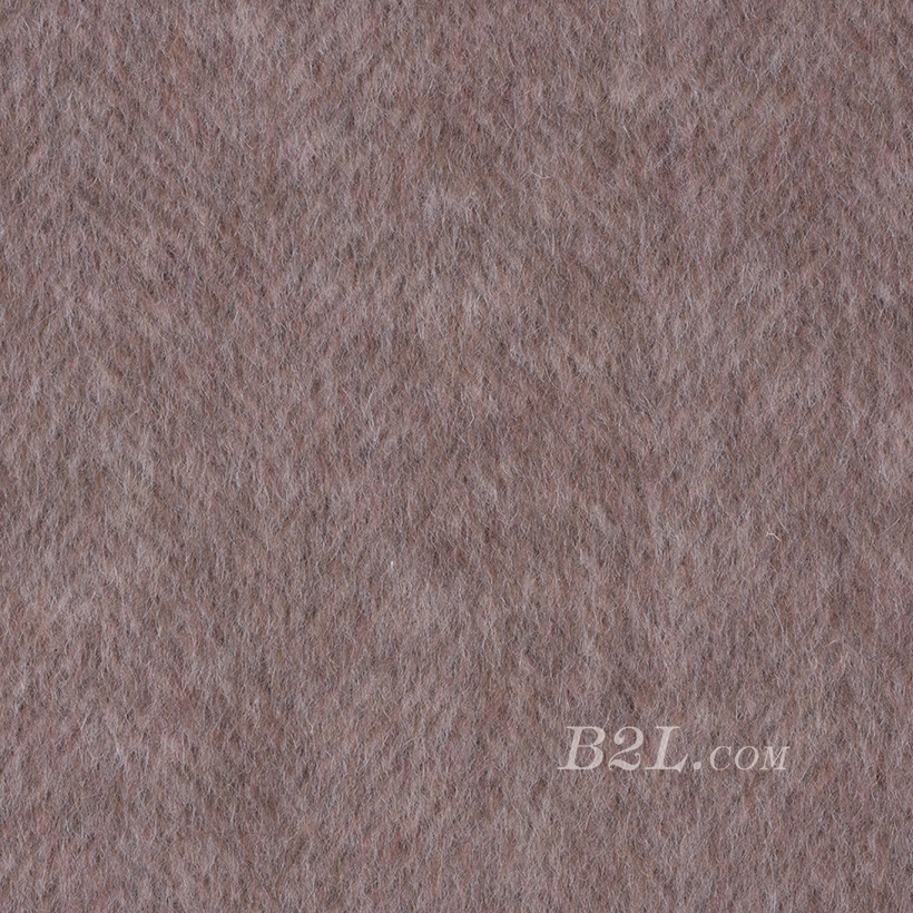 毛纺 梭织 羊毛 人字  绒感 双面尼 厚 大衣 秋冬 女装 80322-11