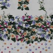 期货 印花 花朵 全涤 无弹 轻薄 连衣裙 衬衫 女装 60804-40