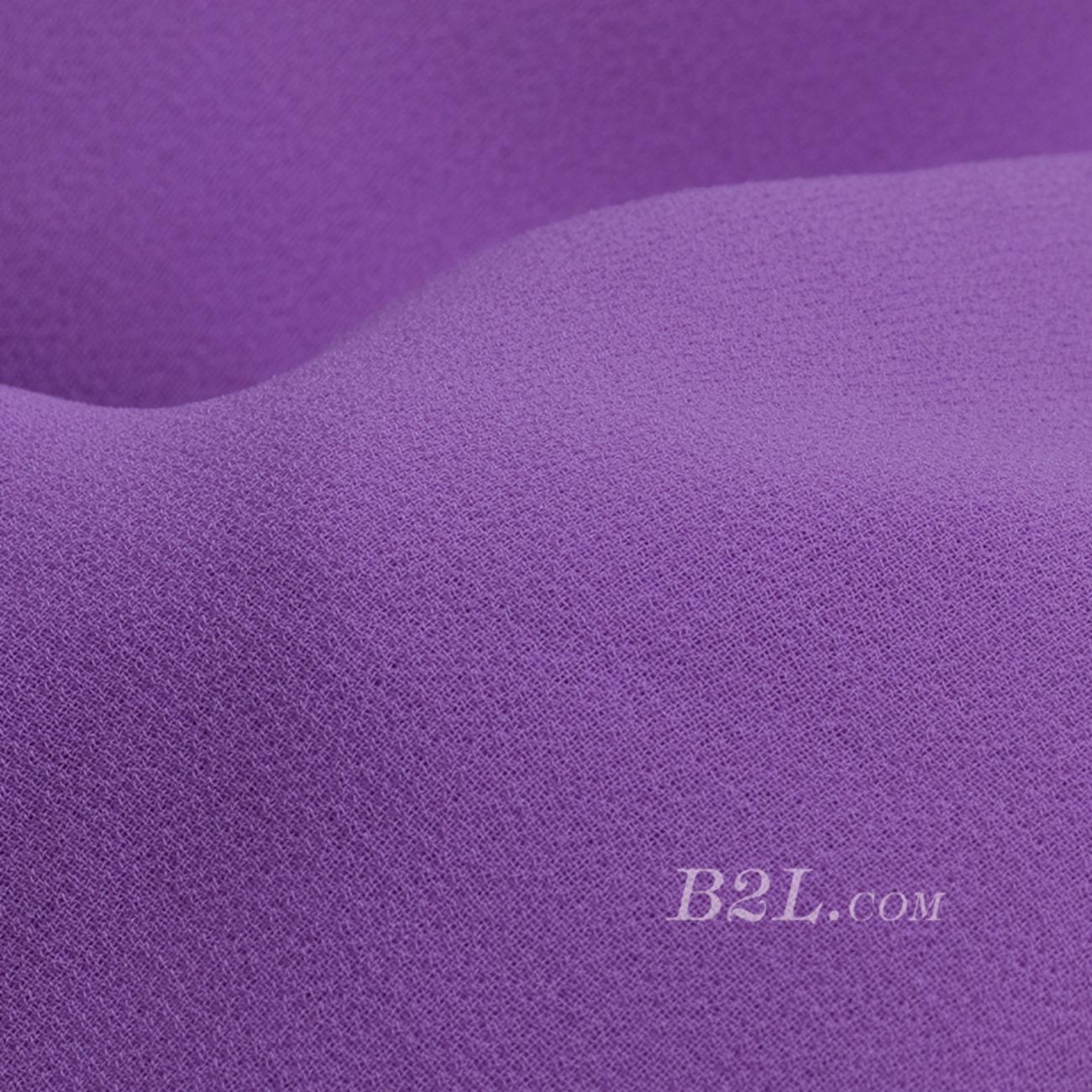 素色 梭织 全涤 雪纺 染色 无弹 柔软 薄 连衣裙 衬衫 春秋 60802-5