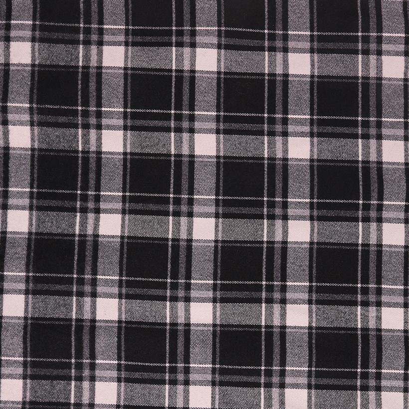 斜纹 格子 梭织 色织 无弹 衬衫 外套 连衣裙 柔软 细腻 男装 女装 春秋 70410-92