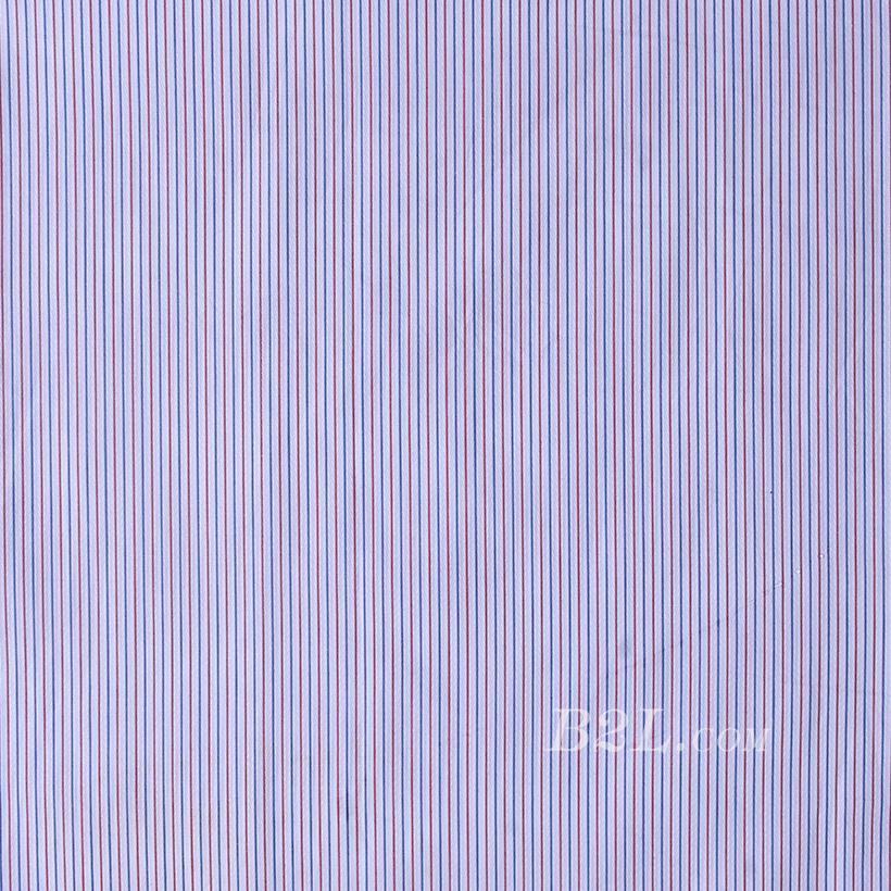 条子梭织色织提花无弹衬衫连衣裙半身裙柔软细腻棉感男装女装60419-27