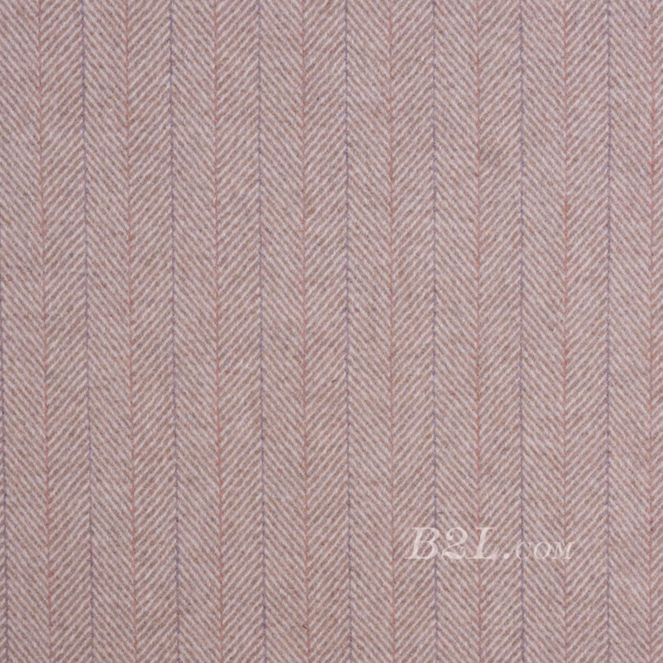 毛纺 条子 提花 人字 彩条 羊毛 无弹 绒感 秋冬 大衣 外套  80715-5
