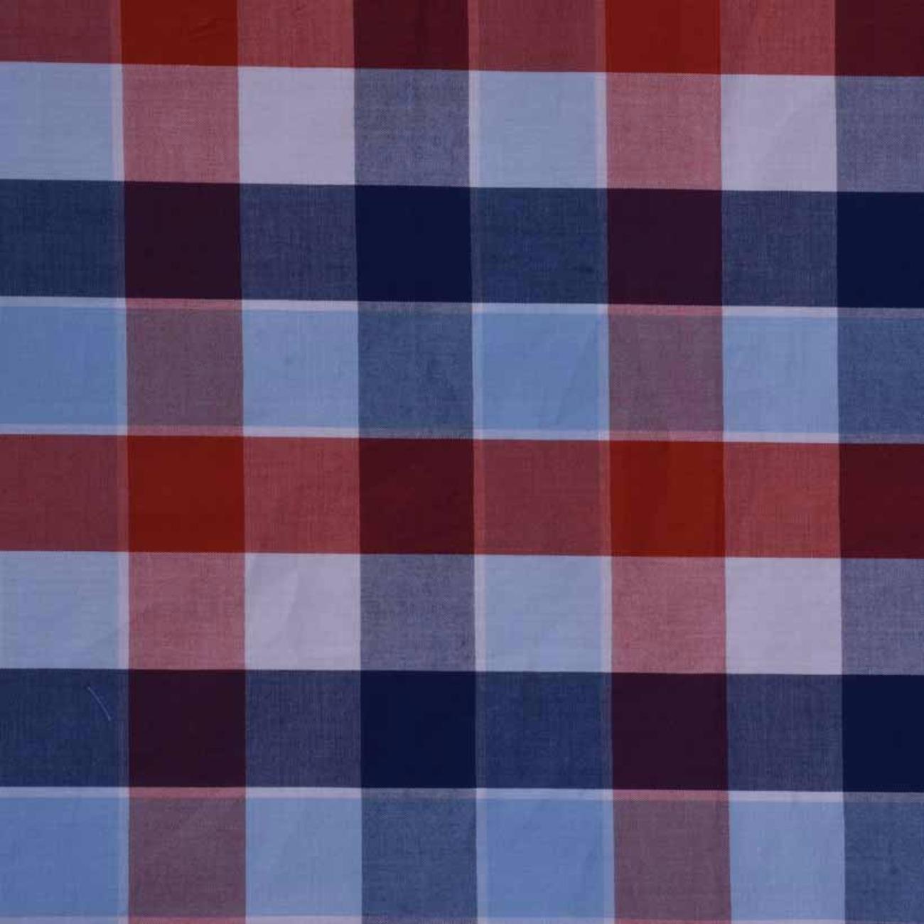 现货格子梭织色织低弹休闲时尚风格衬衫连衣裙 短裙 棉感  60929-58