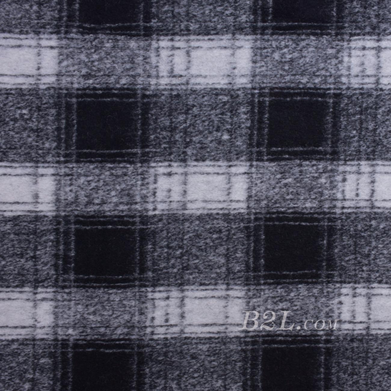 毛纺 格子 提花 色织 绒感 无弹 秋冬 大衣 外套 女装 80720-6
