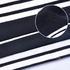 条子 横条 圆机 针织 纬编 T恤 针织衫 连衣裙 棉感 弹力 定位 罗纹60312-59