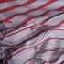 条纹 针织 双面 无弹 上衣 外套 短裙 60526-1