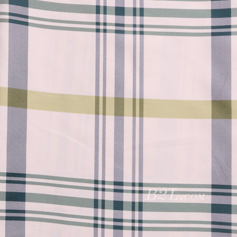 格子 棉感 色织 平纹 外套 衬衫 上衣 70622-40