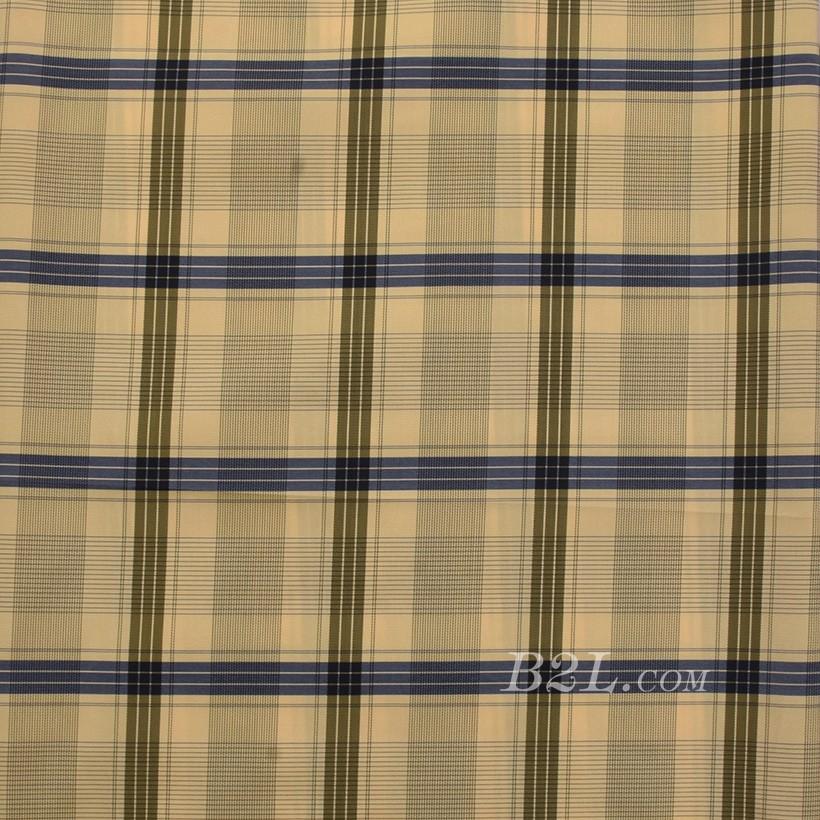 格子 棉感 色织 平纹 外套 衬衫 上衣 70622-38