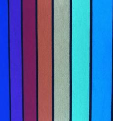 添瑞纺织厂家直销七彩条纹莱卡布