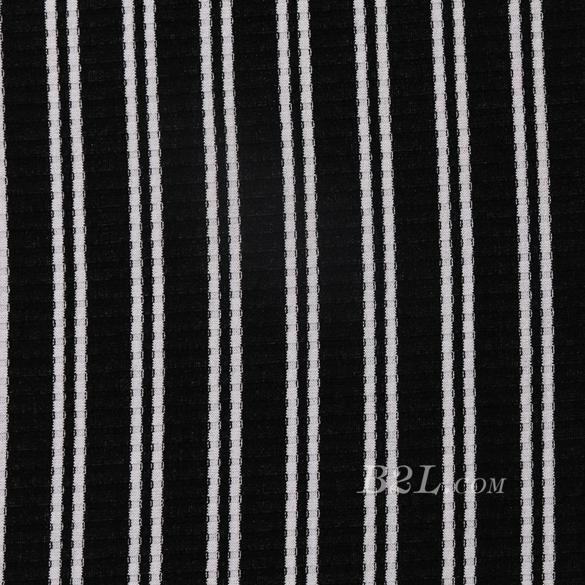 条子 横条 圆机 针织 纬编 T恤 针织衫 连衣裙 棉感 弹力 罗纹60312-49