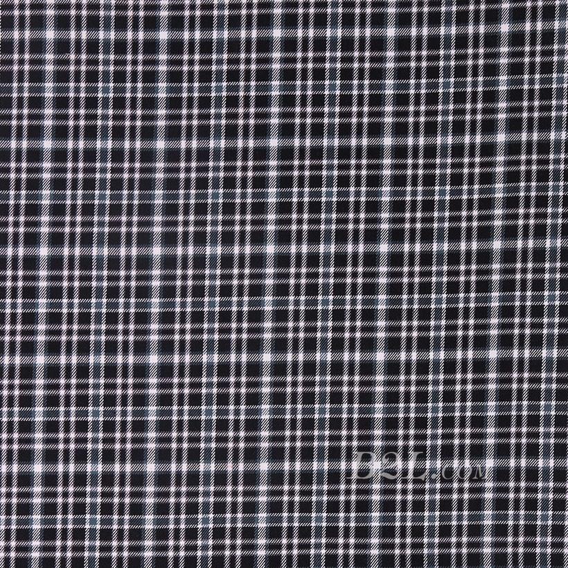 格子 棉感 色织 斜纹 外套 衬衫 上衣 厚 70622-213