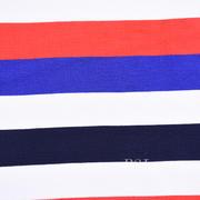 条子 横条 圆机 针织 纬编 T恤 针织衫 连衣裙 棉感弹力 60311-22