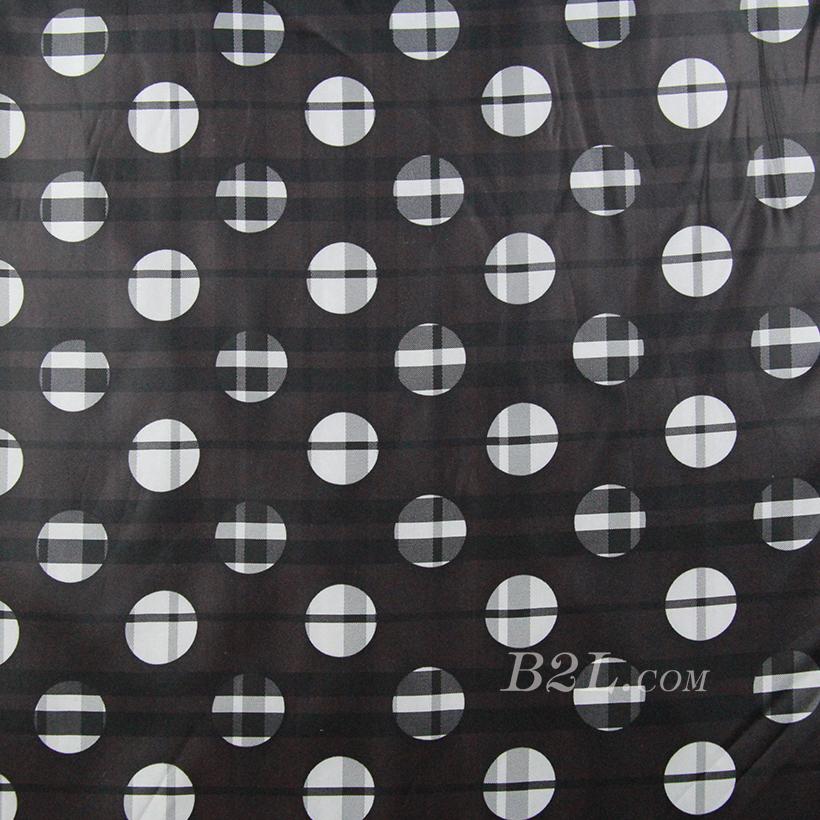 格子 圆点 色织 衬衫 无弹 上衣 70622-135