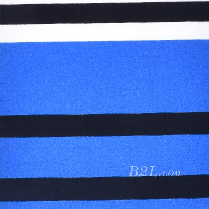 现货 条子 横条 圆机 针织 纬编 T恤 针织衫 连衣裙 棉感 弹力 定位 60312-192