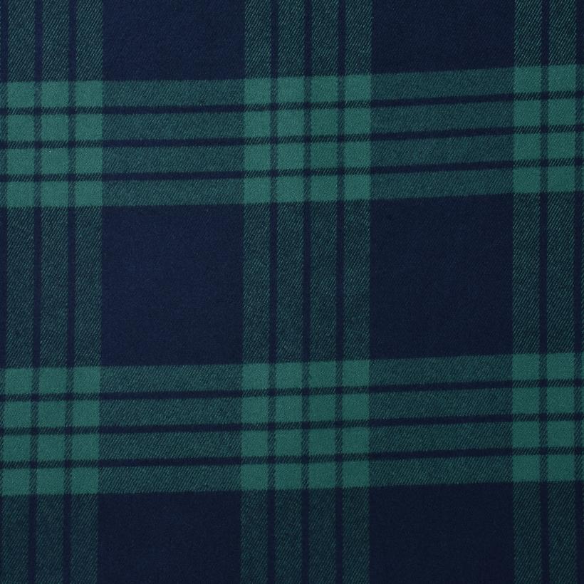 斜纹 格子 梭织 色织 无弹 衬衫 外套 连衣裙 柔软 细腻 男装 女装 春秋 70410-93