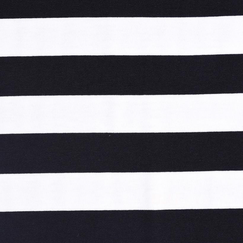 条子 横条 圆机 针织 纬编 T恤 针织衫 连衣裙 棉感 弹力 60312-158