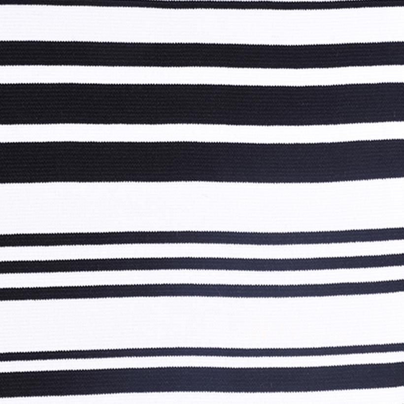 楼梯布 坑条 条子 横条 圆机 针织 纬编 T恤 针织衫 连衣裙 定位 棉感弹力 60311-9