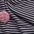 条纹 棉感 提花 平纹 连衣裙 外套 上衣 60701-15
