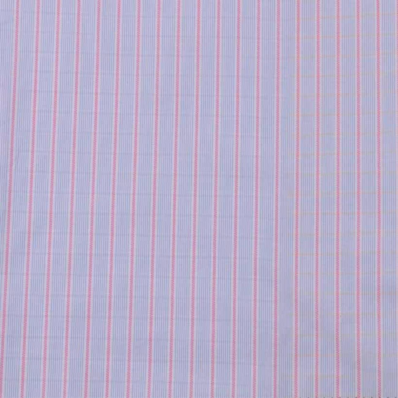 现货条子梭织色织提花低弹休闲时尚风格 衬衫 连衣裙 短裙 棉感 60929-46