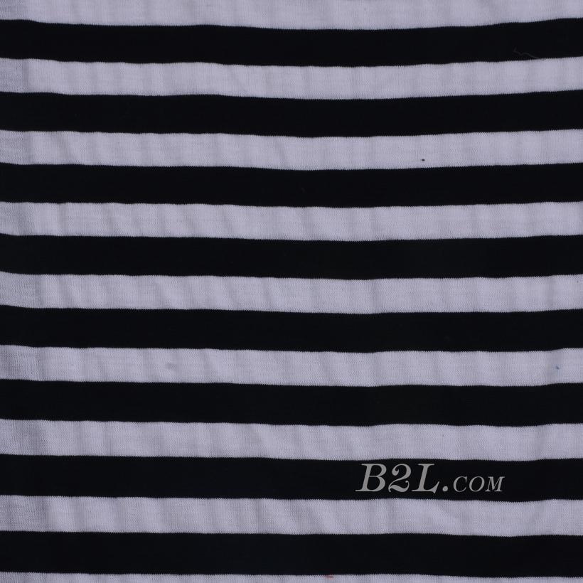 条纹 棉感 提花 平纹 连衣裙 外套 上衣 60701-26