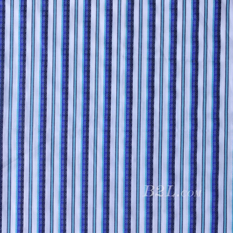条子梭织色织无弹衬衫连衣裙半身裙柔软细腻棉感女装60429-5