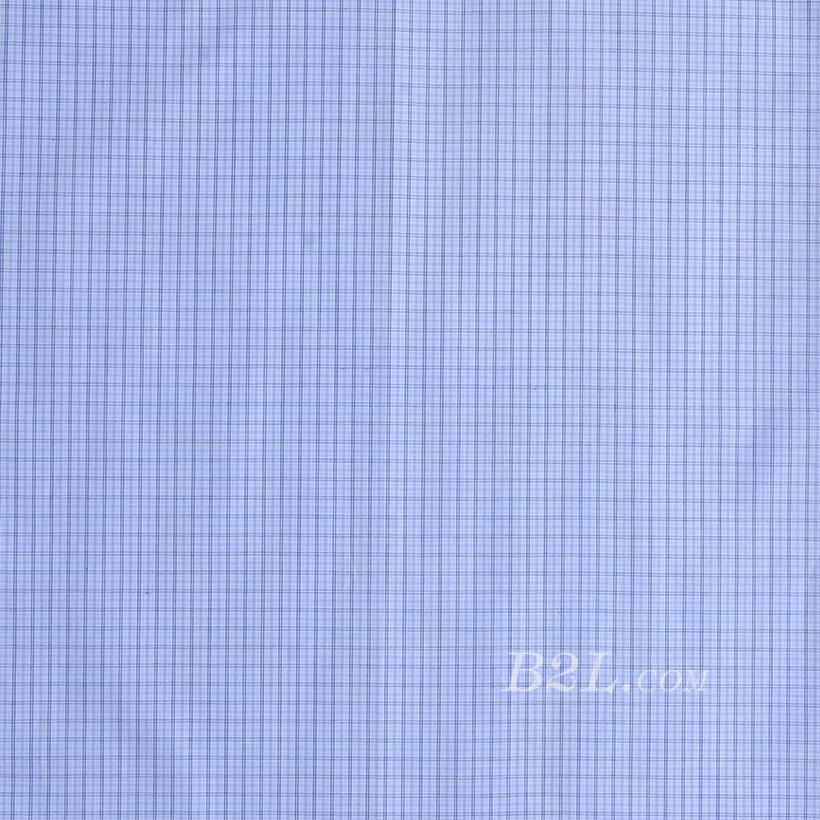 格子梭织色织无弹衬衫领结柔软细腻棉感男装60419-35