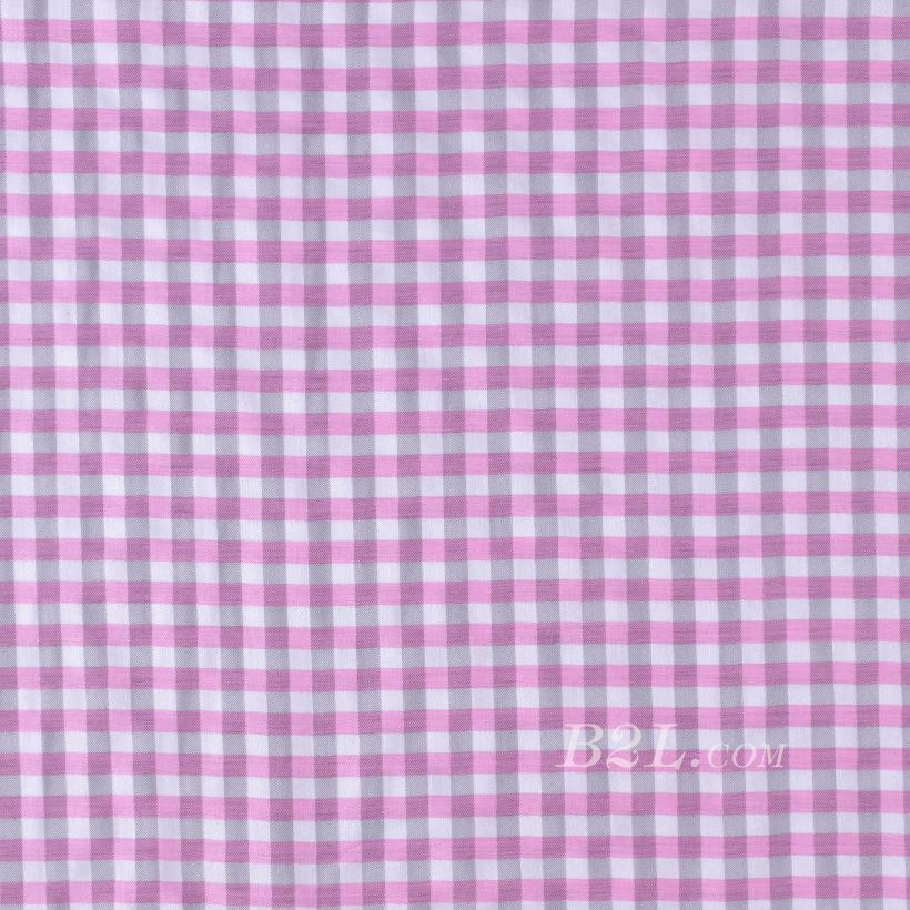 格子 梭织 色织 无弹 衬衫 外套里布 大衣里布 短裤 薄 60324-8