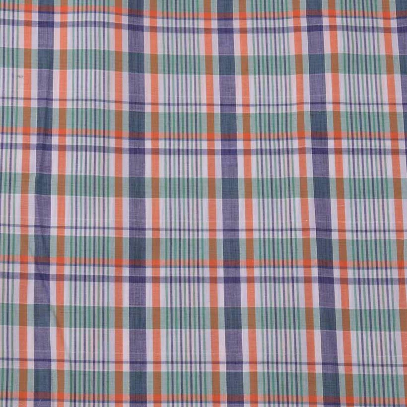 格子 色织 休闲时尚格 现货 梭织 提花 低弹  衬衫 连衣裙 短裙 棉感 60929-1