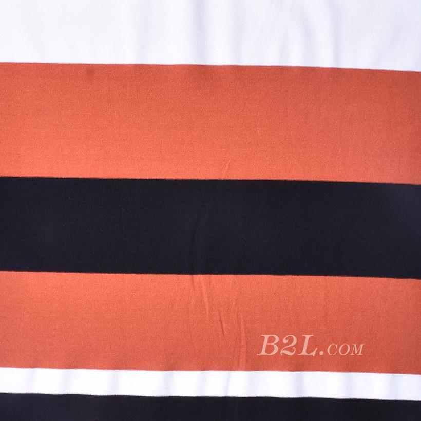 期货 条子 横条 圆机 针织 纬编 T恤 针织衫 连衣裙 棉感 弹力 定位 60312-176