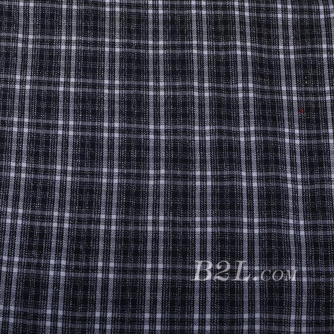 格子 棉感 色织 无弹 外套 大衣 60620-6