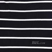 条子 横条 圆机 针织 纬编 T恤 针织衫 连衣裙 棉感弹力 60311-38