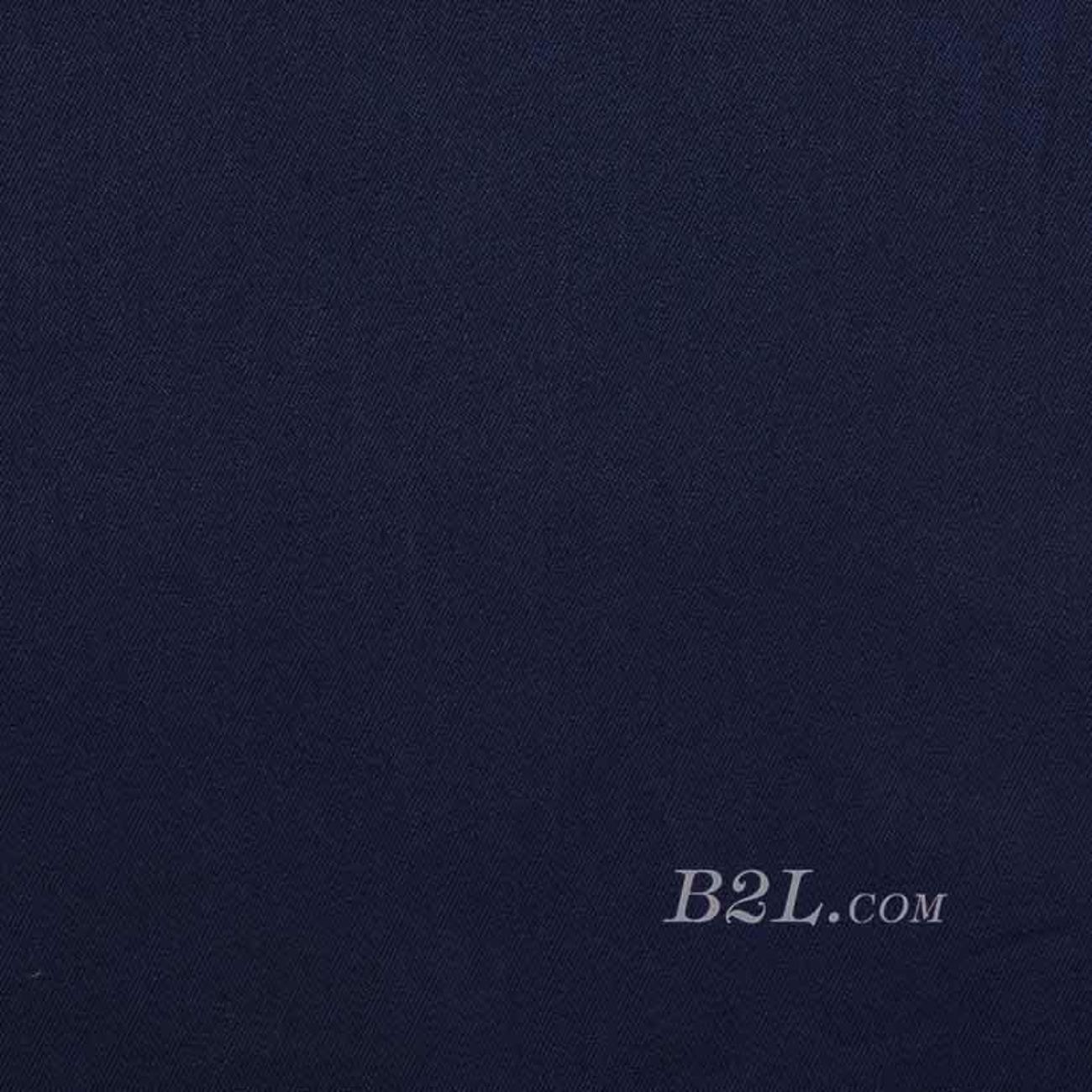 斜纹梭织素色染色连衣裙 短裙 衬衫 低弹 春 秋 柔软 70823-10