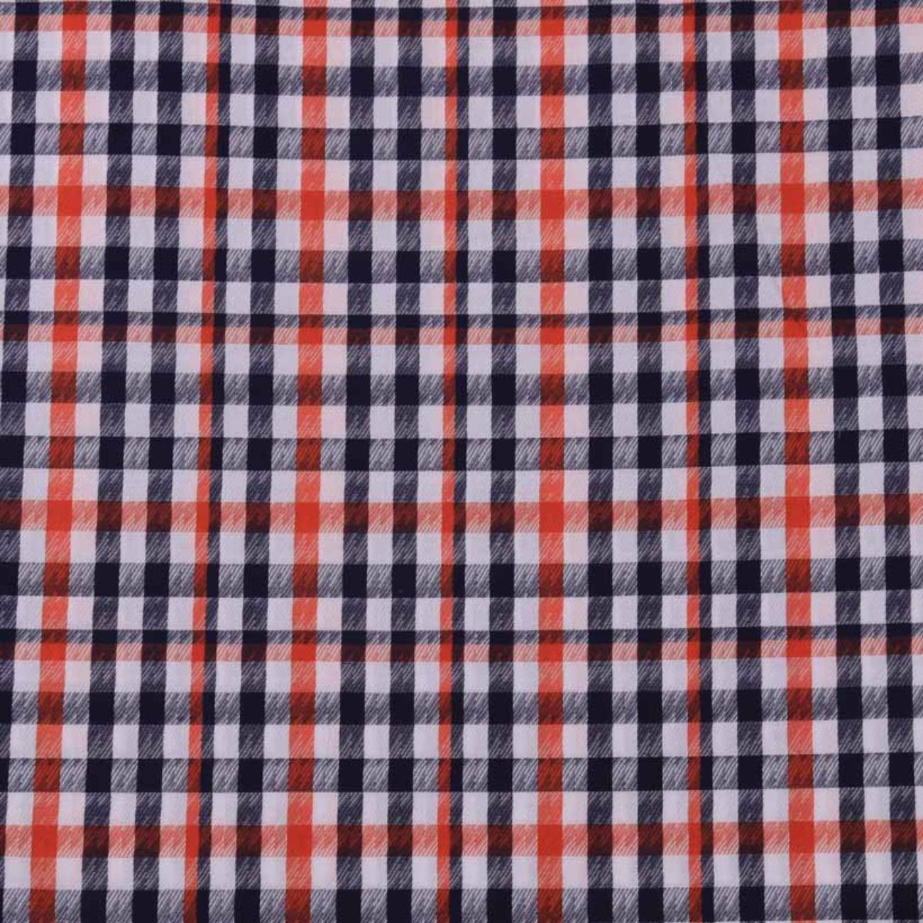 格子 色织 休闲时尚风格 现货 梭织 低弹衬衫连衣裙 短裙 棉感 60929-62