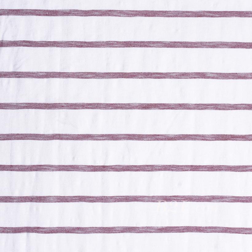 条子 横条 圆机 针织 纬编 T恤 针织衫 连衣裙 棉感 弹力 60312-86