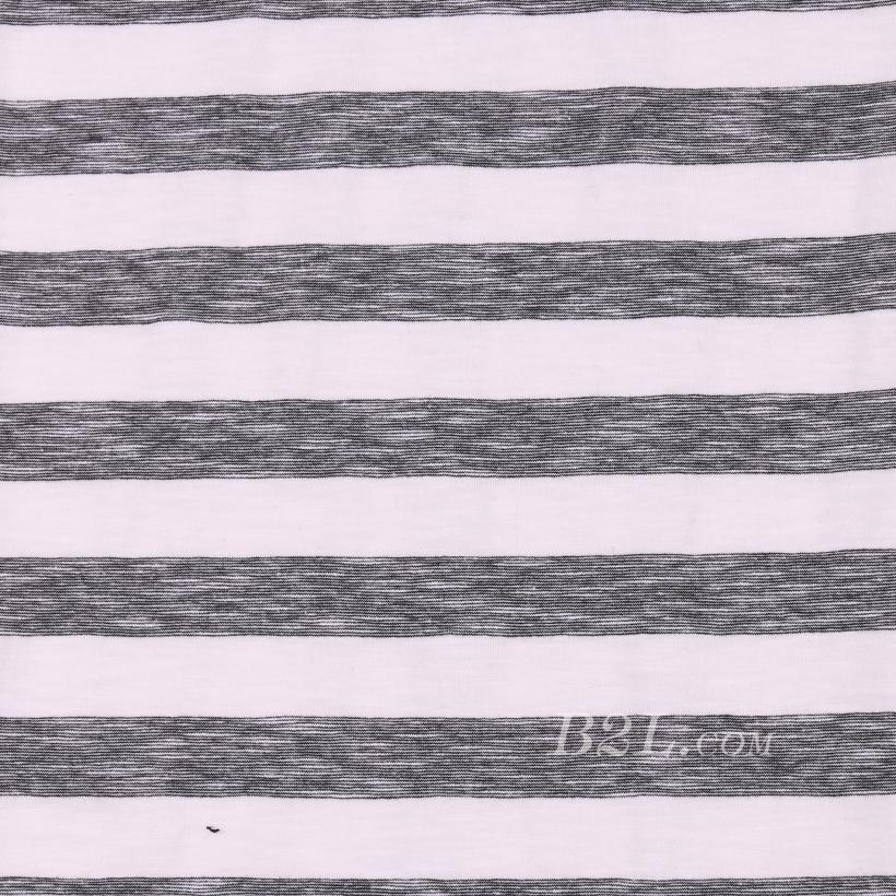 条子 横条 圆机 针织 纬编 T恤 针织衫 连衣裙 棉感 弹力 60312-90