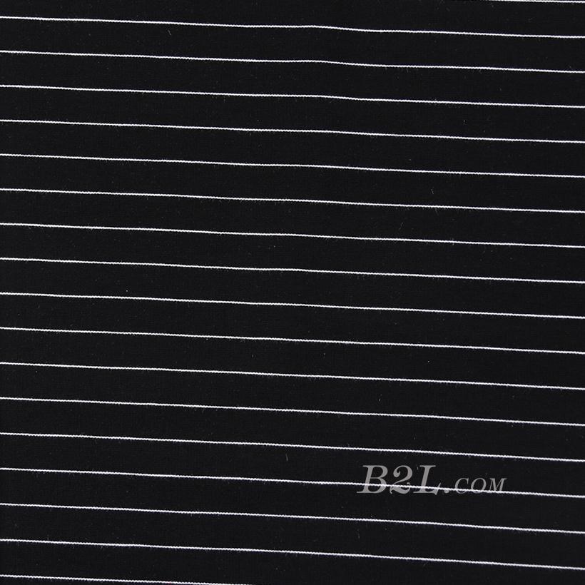 条子 横条 圆机 针织 纬编 T恤 针织衫 连衣裙 棉感弹力 60311-46