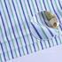 条子梭织色织无弹衬衫领结细腻棉感男装60429-2