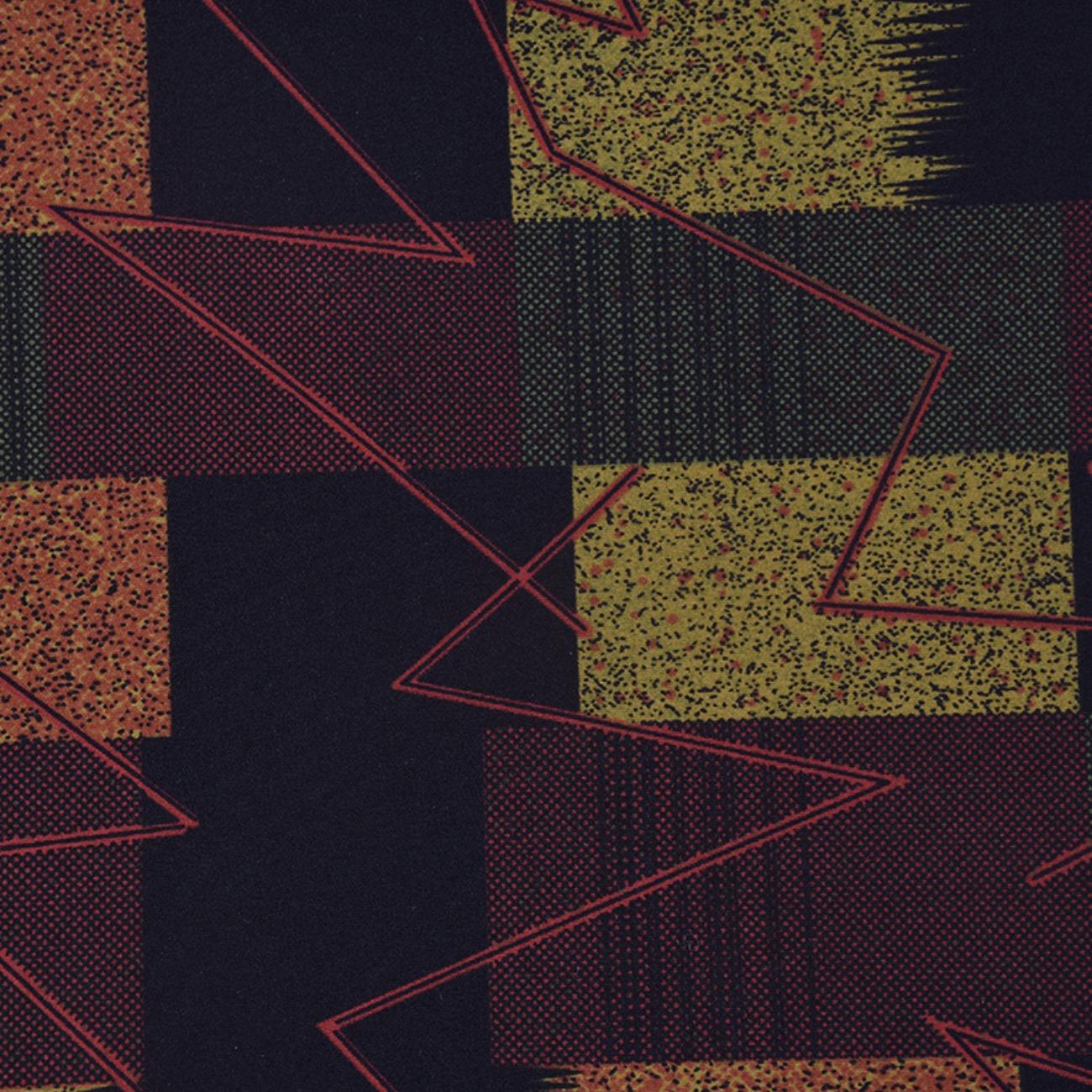 印花 几何 针织 现货  T恤  针织衫  连衣裙 妈妈装 四面弹 柔软 圆机 纬编 单面 60314-20