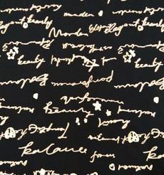 添瑞纺织厂家直销字母印花莱卡布
