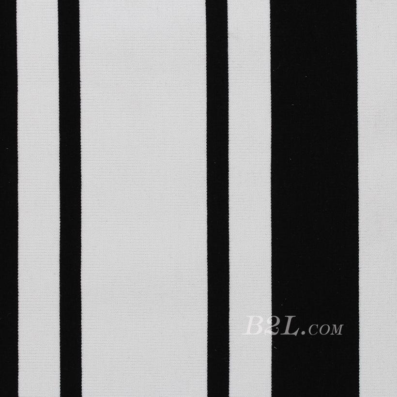条子 横条圆机 针织 纬编 T恤 针织衫 连衣裙 棉感弹力 60311-65