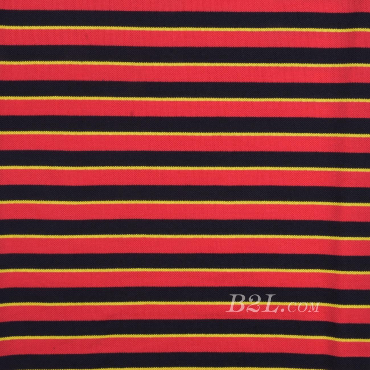 条纹 针织 横条 高弹 棉感 春秋 T恤 针织衫 连衣裙 80905-42