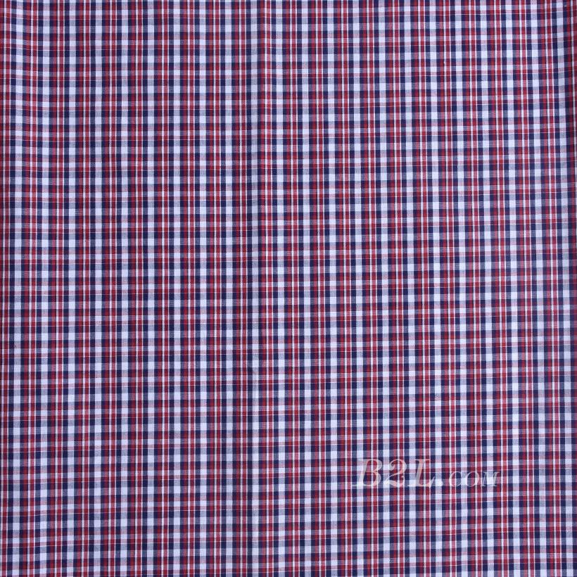格子梭织色织无弹衬衫连衣裙半身裙柔软细腻棉感男装女装60419-31