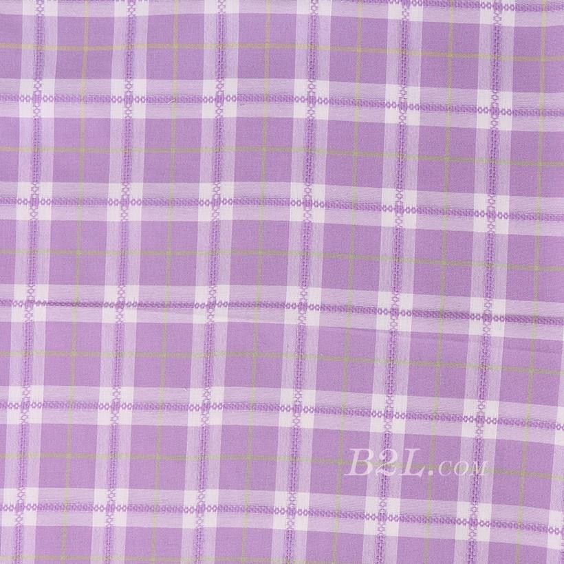 格子 棉感 色织 平纹 低弹 外套 衬衫 上衣 70622-83